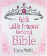 ICB God's Little Princess Devotional Bible, hardcover - Slightly Imperfect