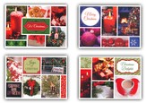Christmas Mosaic Christmas Cards, Box of 12