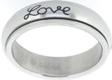 Faith Hope Love Spin Ring Size 7