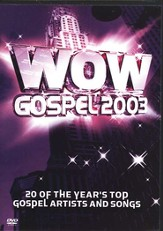WOW Gospel 2003, DVD