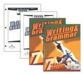 BJU Writing & Grammar Grade 7 Kit, Third Edition