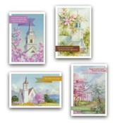 Precious Memories Sympathy Cards, Box of 12