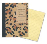 Sticky Note Tablet-Leopard-200 lined sticky sheets 3 x 4.125