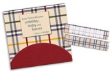 Sticky Note Flags-English Plaid-3 x 2.75