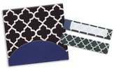 Sticky Note Flags-Quatrefoil-3 x 2.75