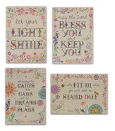 Handstitched Encouragement Cards, Box of 12