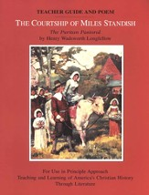 The Courtship of Miles Standish: The Puritan Pastoral, Teacher Guide and Poem