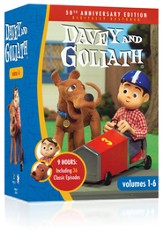 Davey and Goliath, Volumes 1-6