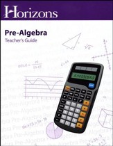 Horizons Pre-Algebra Teacher's Guide