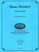 Syllabus For Hans Brinker