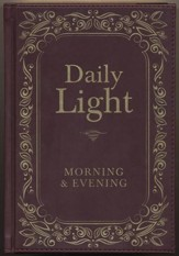Daily Light, Morning & Evening Edition  - Slightly Imperfect