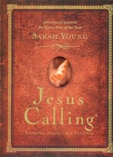 Jesus Calling Devotional Journal, padded hardcover  - Slightly Imperfect