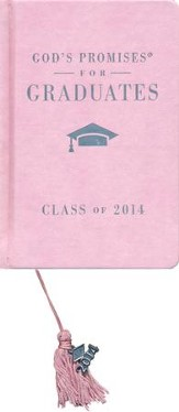 NKJV God's Promises for Graduates: Class of 2014, Pink