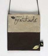 Sweet Gratitude Handbag, Small, Brown