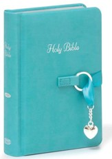 NKJV Simply Charming Bible, Leathersoft Hardcover  - Imperfectly Imprinted Bibles