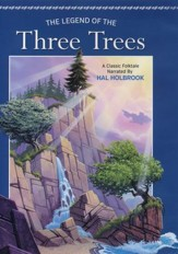Legend Of The Three Trees DVD, repackaged - Slightly Imperfect