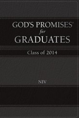 NIV God's Promises for Graduates: Class of 2014, Black