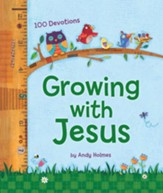 Growing with Jesus: 100 Devotions  - Slightly Imperfect