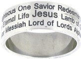 Names of Jesus Ring Size 8