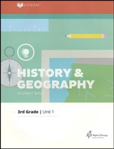 LIFEPAC History & Geography Student Book Grade 3 Unit 1 2011 Edition