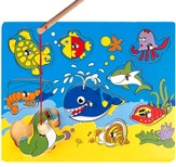 Magnetic Fishing Ocean Life Puzzle