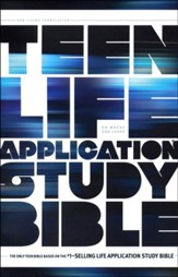 NLT Teen Life Application Study Bible, Softcover - Slightly Imperfect