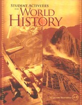 BJU World History Student Activity Book Grade 10, 3rd Edition