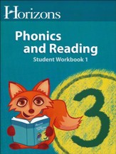 Horizons Phonics & Reading Grade 3, Student Workbook 1