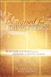 Designed for Devotion: A 365-Day Journey from Genesis to Revelation - eBook