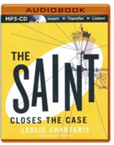 #2: The Saint Closes the Case - unabridged audio book on CD