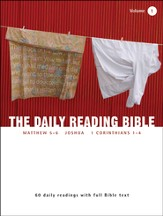 The Daily Reading Bible (Volume #1)
