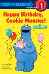 Happy Birthday, Cookie Monster (Sesame Street) - eBook