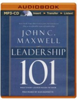 Leadership 101: What Every Leader Needs to Know - unabridged audio book on MP3-CD