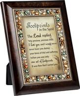Footprints, Jeweled Framed Verse