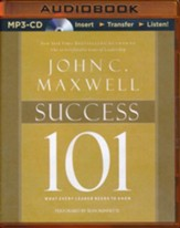 Success 101: What Every Leader Needs to Know - unabridged audio book on MP3-CD