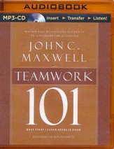Teamwork 101: What Every Leader Needs to Know - unabridged audio book on MP3-CD