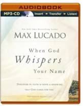 When God Whispers Your Name - unabridged audio book on CD