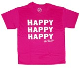 Happy Happy Happy Shirt, Heliconia, Youth Small