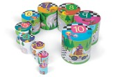 Racing Round Stacking Toy