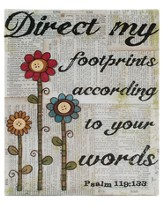 Direct my Footprints Wall Plaque