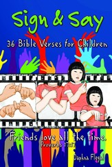 Sign & Say: 36 Bible Verses for Children - eBook