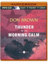 #1: Thunder in the Morning Calm - unabridged audio book on MP3-CD