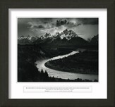 Ah, Lord God, The Grand Tetons, Framed Art