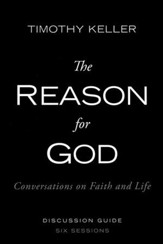 The Reason For God, discussion guide, softcover  - Slightly Imperfect