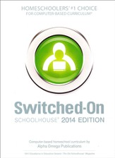 Complete Grade 6 Subject Set, Switched-On Schoolhouse 2014 Edition