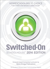 Complete Grade 8 Subject Set, Switched-On Schoolhouse 2014 Edition