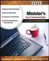 Zondervan 2015 Minister's Tax and Financial Guide: For 2014 Tax Returns