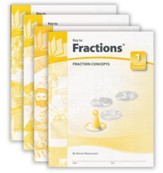Key To Fractions, Books 1-4