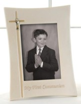 My First Communion Photo Frame, Holds 4 x 6 Photo