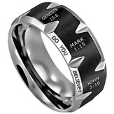 Do You Believe, Men's Ring, Size 10
